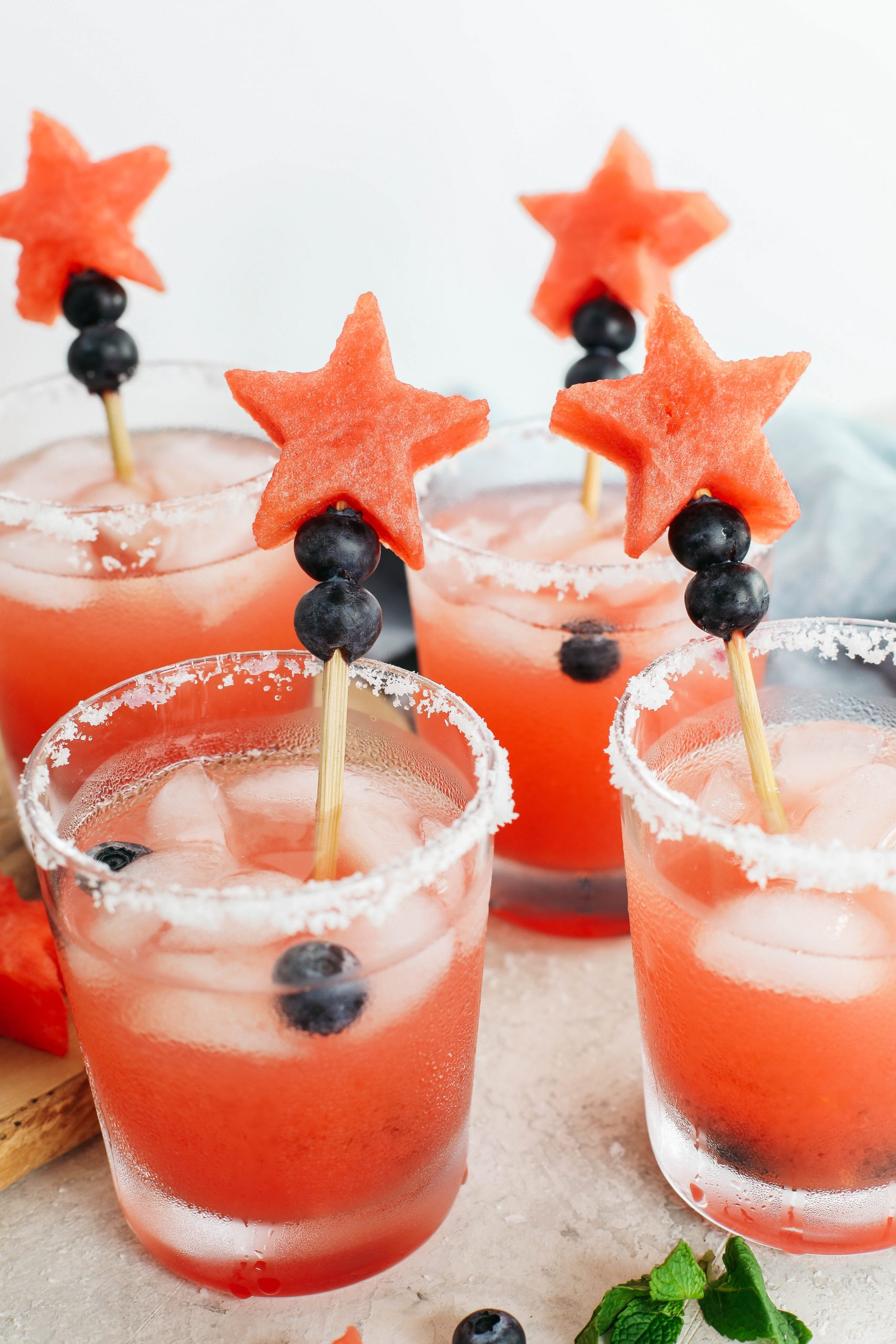 Margaritas de melancia fresca - coma você mesmo magro 33