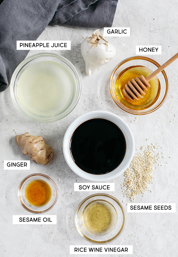 Skip store-bought and make this EASY Healthy Teriyaki Sauce that is sticky, sweet and made in just 5 minutes using fresh, simple ingredients!