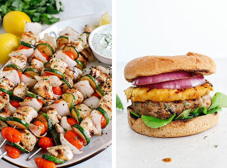 Celebrate the 4th of July holiday with my favorite healthier recipes perfect for an all-American spread! Everything from appetizers, mains, side dishes, desserts and festive cocktails!