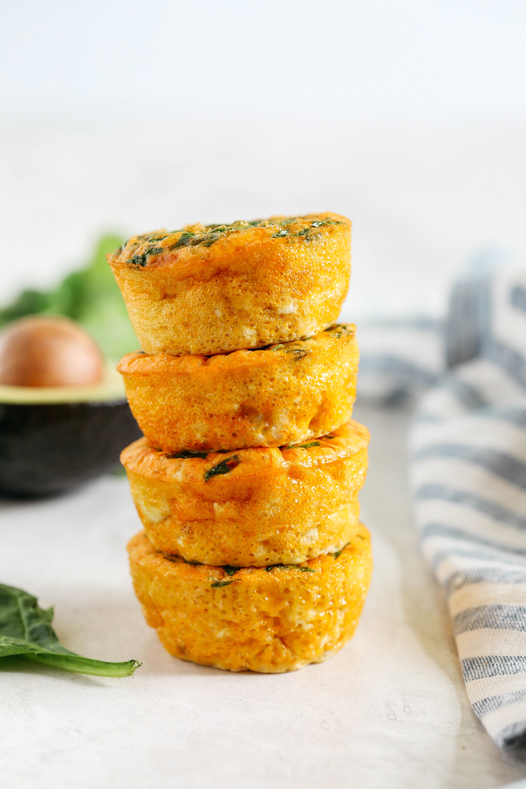 These Cheesy Salsa Egg Muffins make the perfect healthy breakfast that are packed with flavor, simple to make and can easily be grabbed on-the-go!