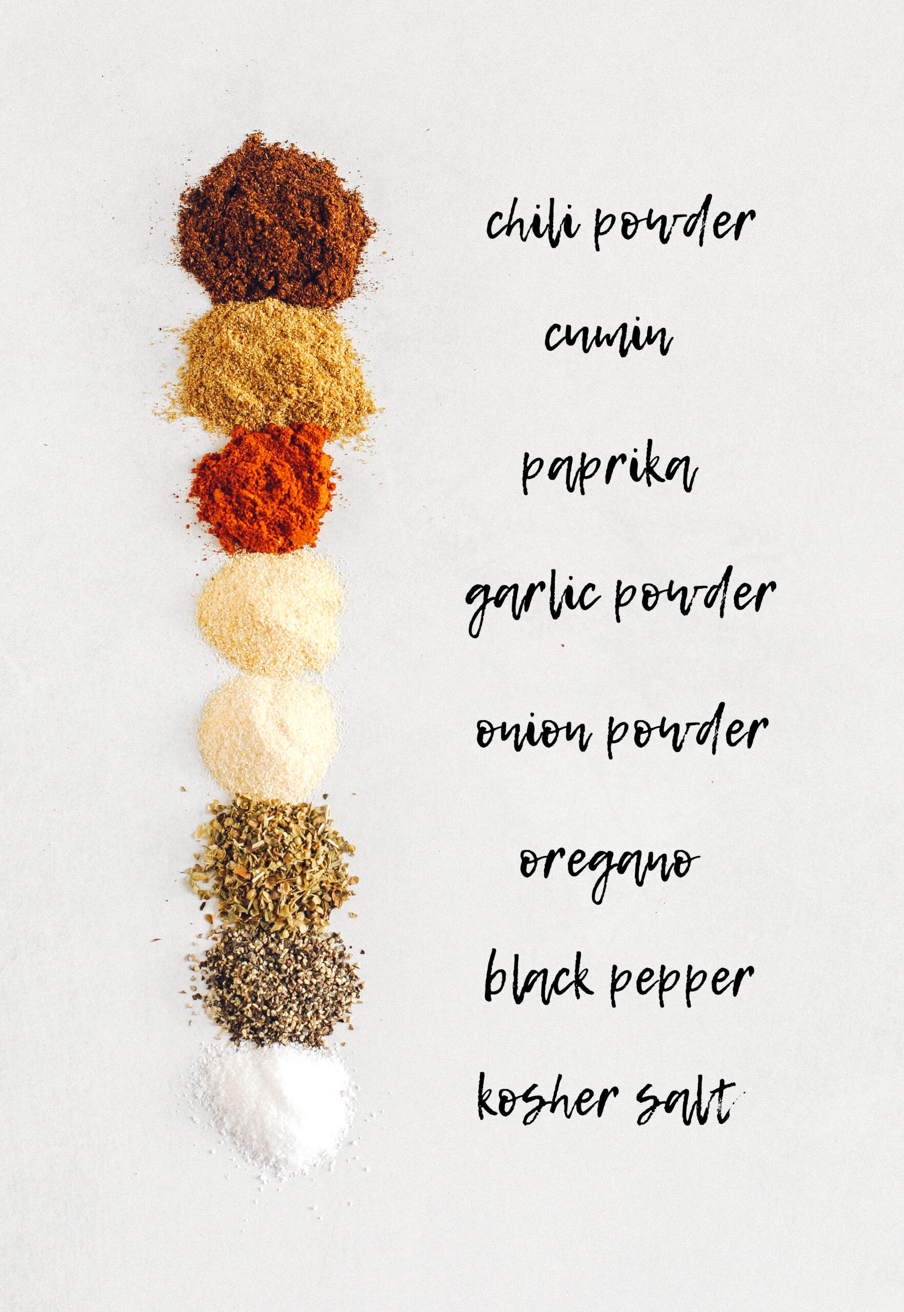 The only Homemade Taco Seasoning you'll ever need that is super quick to make with the perfect amount of spices to add flavor to all your favorite Mexican dishes!